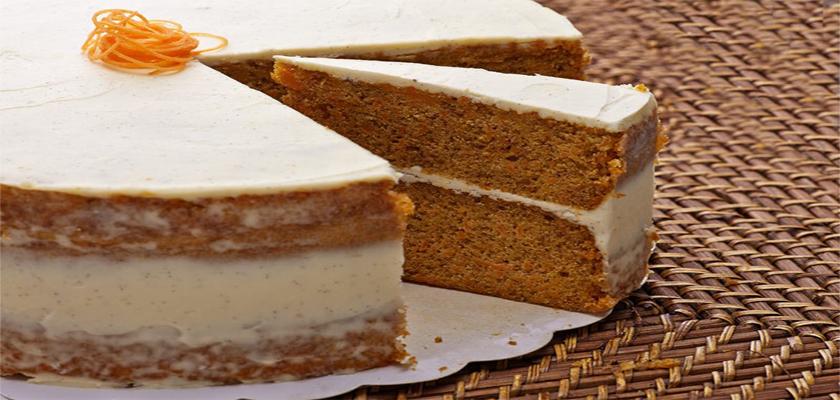 tarta coco y zanahoria