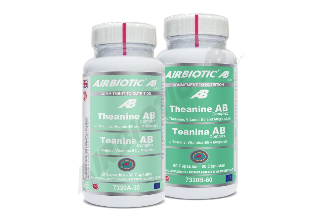 L-Teanina 250mg de Airbiotic AB favorece la relajación y antiestress