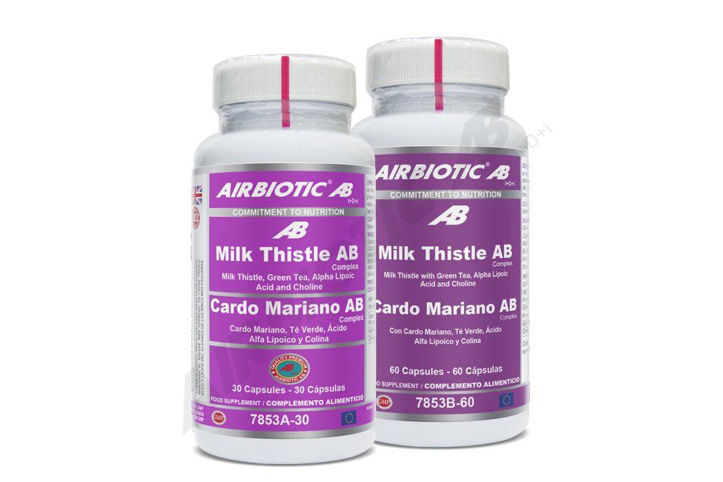 Cardo Mariano Complex, potente antioxidante ayuda al organismo a eliminar toxinas y protege frente al estrés oxidativo, especialmente a las células del hígado