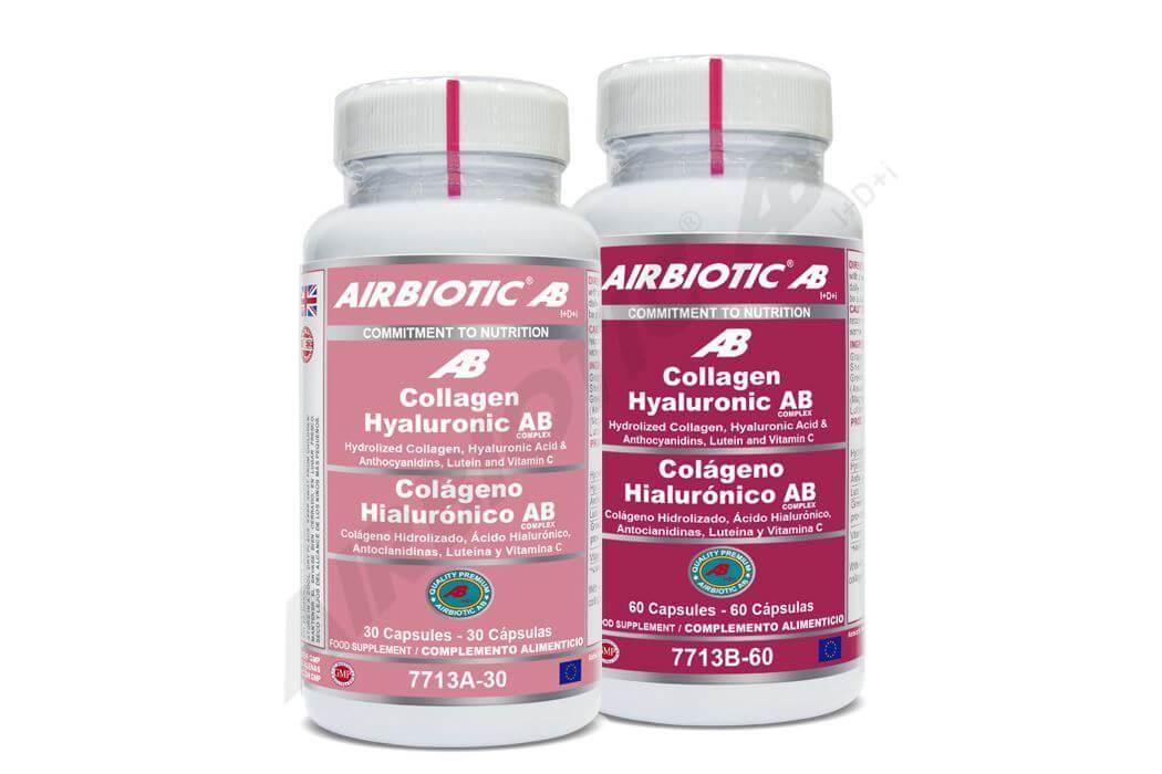 Ácido Hialurónico + Colágeno Hidrolizado: antienvejecimiento, antiarrugas y regenerativas de cartílagos y huesos.