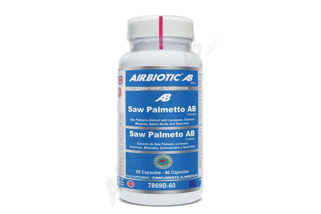 extracto concentrado de saw palmetto de máxima calidad, equivalente a 6.400 mg de la planta