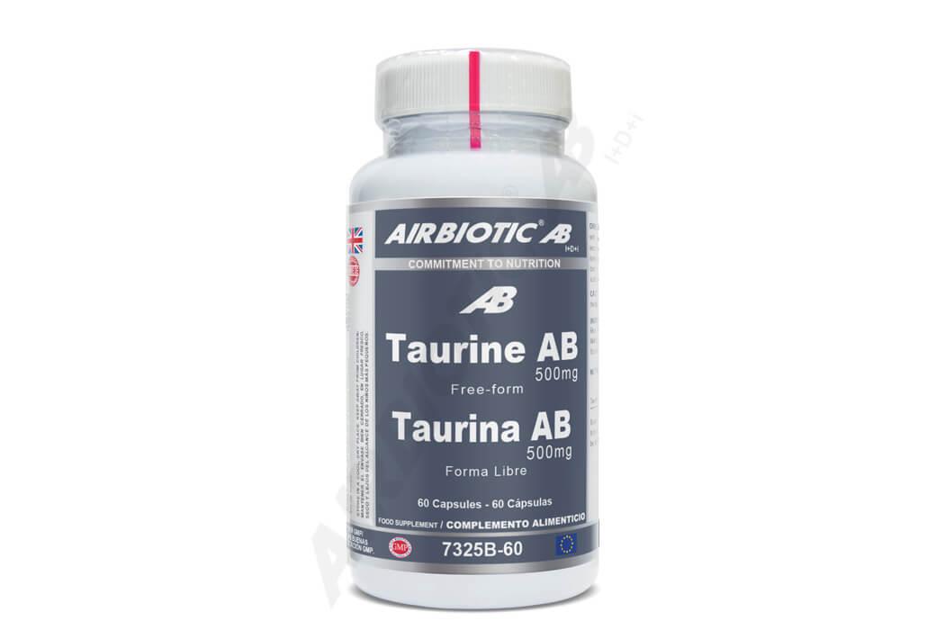Taurina AB 500 mg para el buen funcionamiento del sistema nervioso