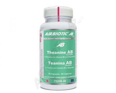 L-Teanina 250mg de Airbiotic AB 60 cápsulas