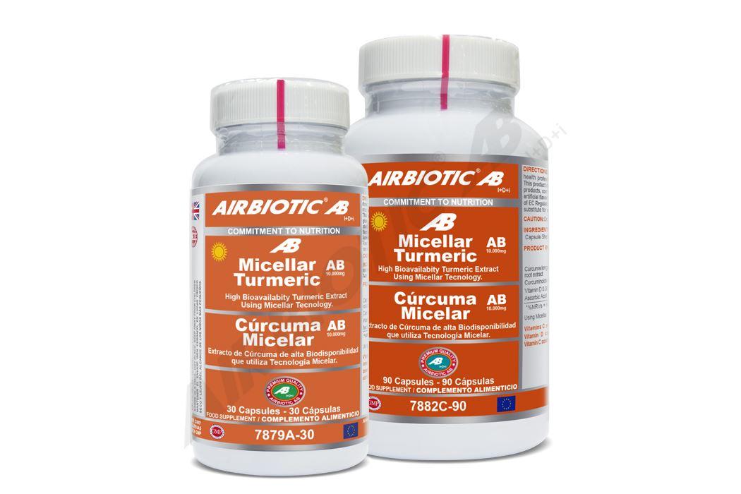 Aprovéchate de los beneficios de la cúrcuma micelar con un extracto de la máxima concentración y calidad