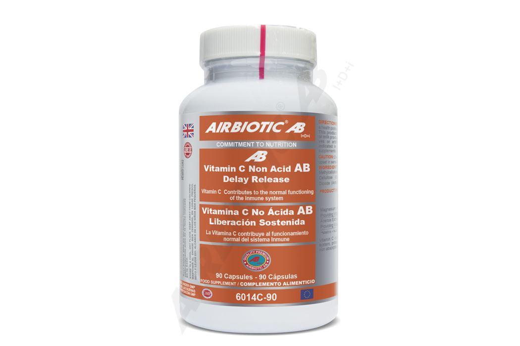 6014c-90 vitamina c no acida ab, liberacion sostenida, acerola