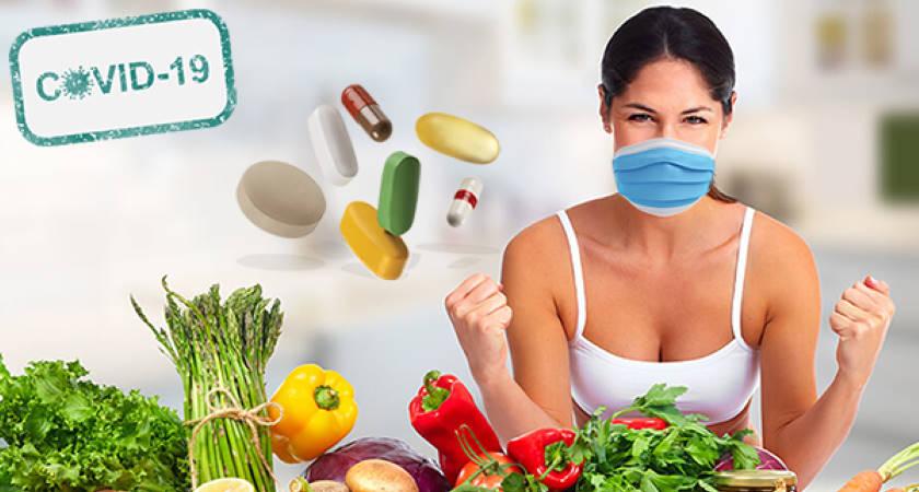 vitaminas, minerales, antioxidantes, sistema inmunitario Reforzar Nuestro Sistema Inmunológico frente al COVID-19